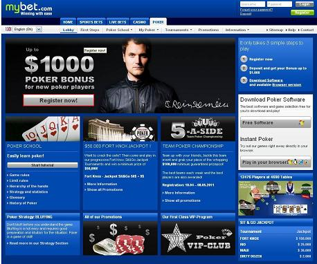 Mybet Pokerbonus